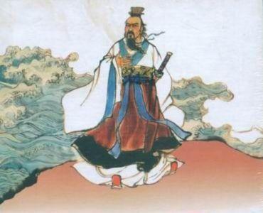 赵长在诗歌《屈原,一个人的祖国》