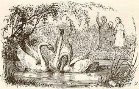 安徒生童话《丑小鸭》(节选)