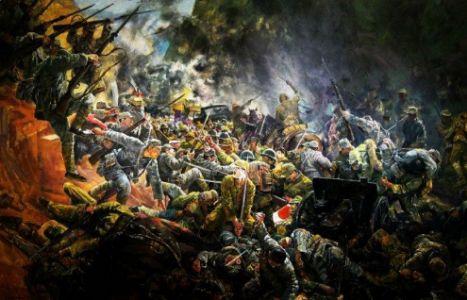 刘立云诗歌《在欢呼的人群中》