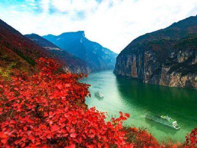 余秋雨散文《三峡》